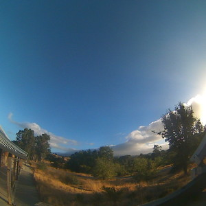 Follow Arastradero Preserve in our app to see their daily time-lapse - the cloud movement is spectacular!