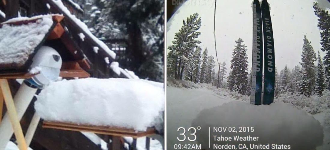 tahoe weather bloomsky