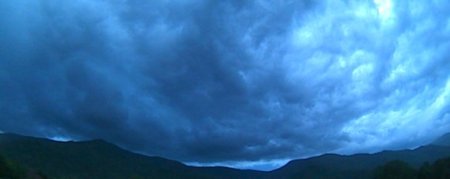 Understanding Approaching Weather through Weather Time-Lapses