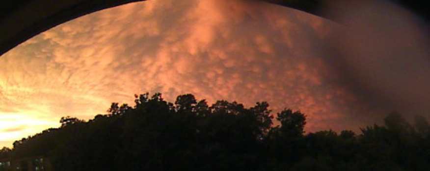 Powerful Summer Storm Produces Vivid Pictures